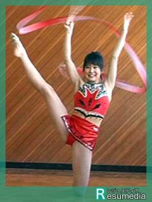 佐津川愛美 新体操 中学生