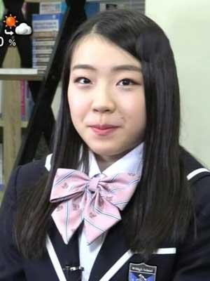 紀平梨花 高校 制服
