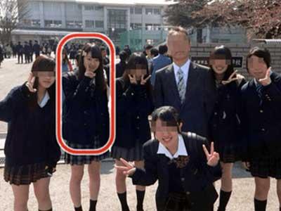 唐田えりか 中学時代