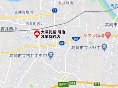 高崎市 グーグルマップ