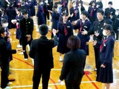 吉井中央中学校制服参考画像
